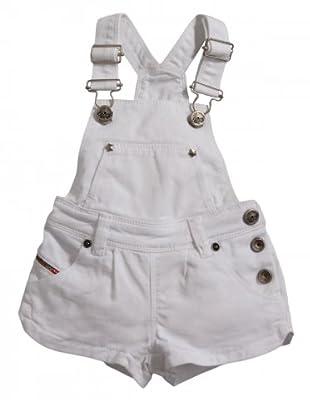 Diesel Kid Latzhose Prattyb Baby (Weiß)