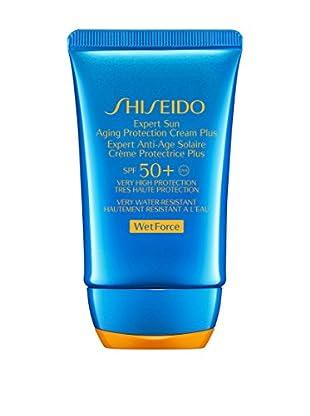 Shiseido Sonnencreme Wet Force 50 SPF 50 ml, Preis/100 ml: 59.9 EUR