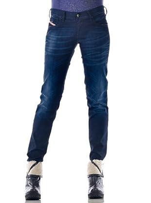 Diesel Pantalón Getlegg (Azul Oscuro)
