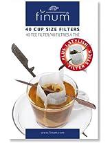 Finum 40-Cup Filters Plus Stick