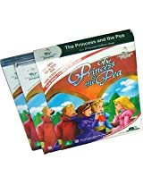 The Princess & the Pea Story Book (2 Book+DVD+CD)