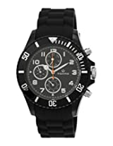 Maxima Hybrid Analog Black Dial Men's Watch - 31281PPGN