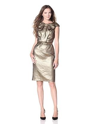 Eva Franco Women's Trinity Metallic Dress (24K)