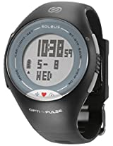 Soleus SH006 Pulse Digital Display Heart Rate Monitor Watch, Men's (Black/Grey)