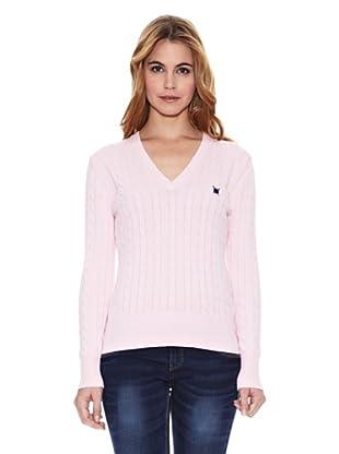 Polo Club Jersey Braided (Rosa)