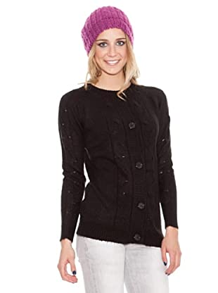 HHG Strickjacke Cindy (Schwarz)