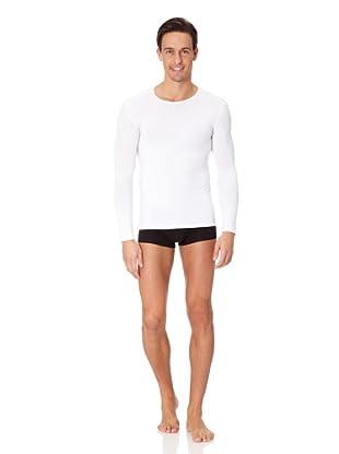 Jolidon Camiseta manga larga Hombre basic (blanco)
