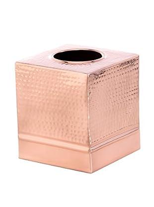 Shiraleah Aga Tissue Box Cover, Copper