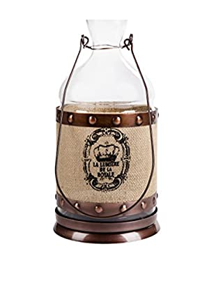 Home Essentials Biscay Lantern, Copper/Tan/Black