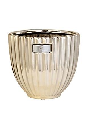 Lene Bjerre Rosalie Large Flower Pot, Light Gold
