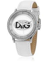 Dw0504 White/White Analog Watch