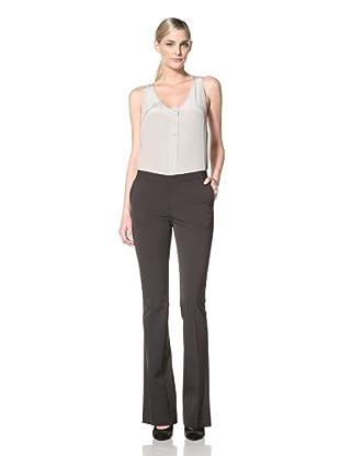 Chaiken Women's Joni Slim Flare Pant (Black)