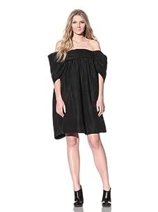 Chloé Women's Off-Shoulder Dress (Black)