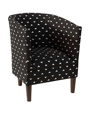 Skyline Amin Wicker Park Chair, Black