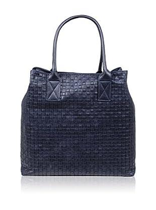 Carla Belotti Bolso asa de mano Handbag Dom Blue
