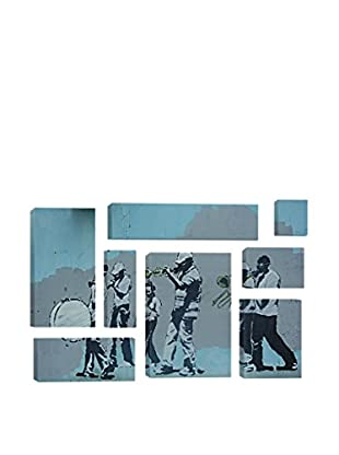Banksy Musicians 8-Piece Giclée On Canvas