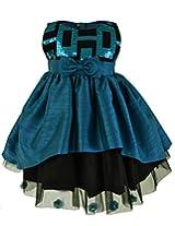 Faye Teal Celebration Dress 10-11 Years
