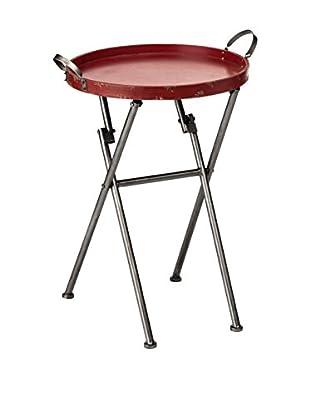 Premier Housewares Tisch Artisan rot