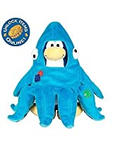 Disney Club Penguin 6.5 Inch Series 3 Plush Figure Squidzoid Version 1 Includes Coin with Code!