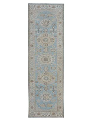Kalaty One-of-a-Kind Pak Rug, Blue, 3' x 10' 6
