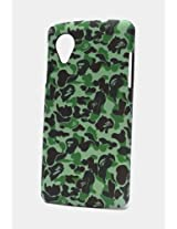 Fonokase Case for LG Google Nexus 5 Army Series Hard Back + Screen Guard
