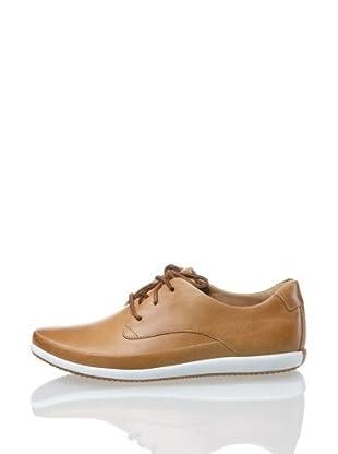 Clarks Leder Sneaker Newton Flow (Natur)