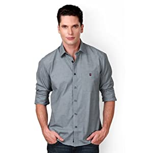 Louis Philippe Textured Casual Shirt