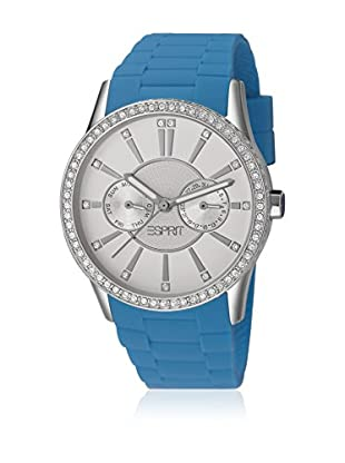 Esprit Orologio al Quarzo Woman Double Infusion Silicon Blue 38 mm
