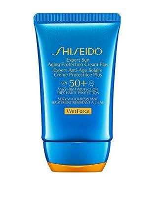 Shiseido Wetforce Expert Sun Aging Protection Cream Plus SPF 50, 50 ml, Preis/100ml: 29.95 €
