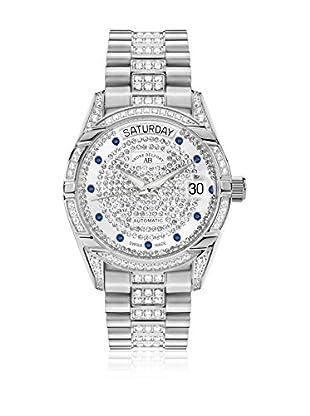 André Belfort Reloj con movimiento automático suizo Woman Comète Plata / Negro 35.0 mm