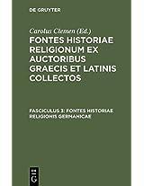 Fontes Historiae Religionis Germanicae
