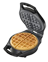 Hamilton Beach Belgian Style Waffle Maker, Mess Free with Adjustable Browning (26042)