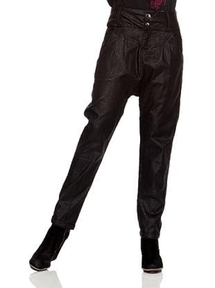 Desigual Pantalón Nadaporcabeza (Negro Estampado)