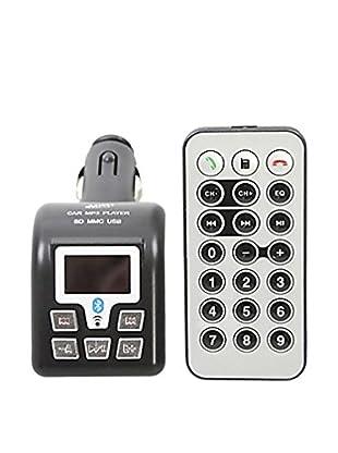 Unotec Bluetooth Manos Libres Con Transmisor Fm Y Mp3 Para Coche