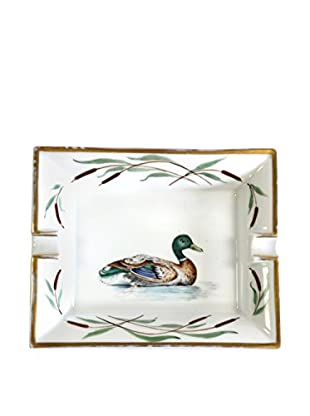 Hermès Large Duck Ashtray, White