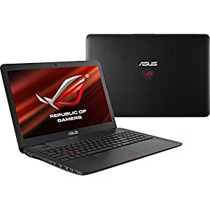 Asus G551JK DM053H 15.6-inch Laptop (Core i7-4710HQ/8GB/1TB/Win 8/2GB Graphics), Black