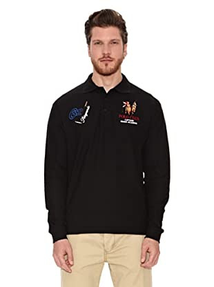 Polo Club Polo Regular Fit Number 62 (Negro)