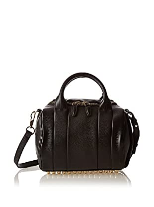 Alexander Wang Borsa A Mano Rockie Black Soft Pebbleleather/Pale Gold