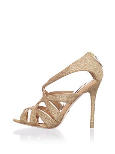Badgley Mischka Platinum Women's Junebug Sandal (Rosegold)
