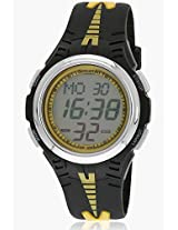 Nf7965Pp04J Black/Grey Digital Watch Sonata