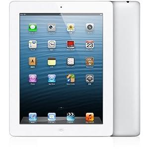 【香港版SIMフリー iPad4 】 iPad 第4世代 4G LTE A1460 64GB ホワイト