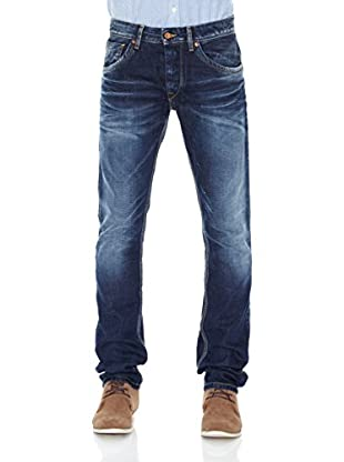 Pepe Jeans London Vaquero Jarrow (Azul Medio)