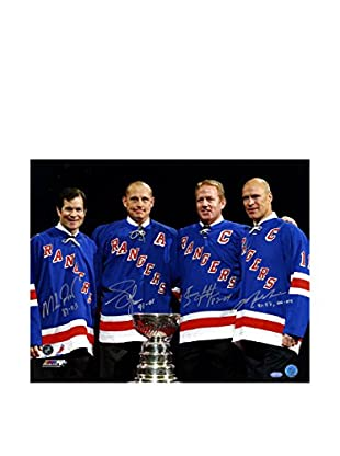 Steiner Sports Memorabilia Mark Messier / Brian Leetch / Adam Graves / Mike Richter Multi Signed Photo, 16