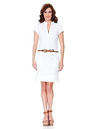 Cortefiel Blusenkleid (Weiß)