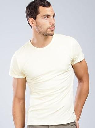 Armand Basi Camiseta Detalle (amarillo)