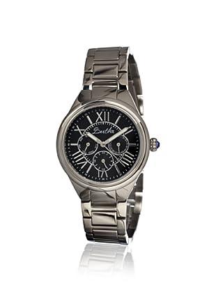 Bertha Women's BR1402 Rachel Silver/Black Stainless Steel Watch
