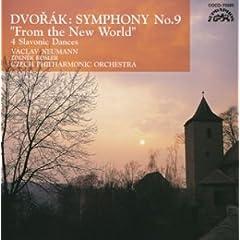 ノイマン指揮/チェコ・フィル ドヴォルジャーク:交響曲第9番 の商品写真