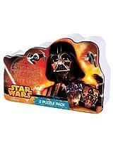 Star Wars Villians 2 Pk Puzzle Set Tin