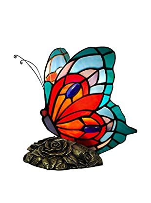 Arte Dal Mondo Tischlampe Farfalla
