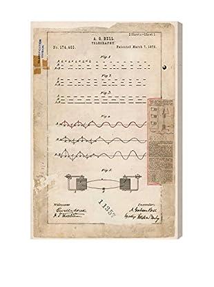 Oliver Gal Alexander Graham Bells Telegraphy Giclée On Canvas